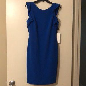 NWT Calvin Klein Royal blue business dress